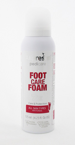 Allpresan Footcare Foam for Feet Prone to Foot Fungus