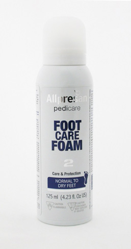 Allpresan Footcare Foam for Normal to Dry Feet