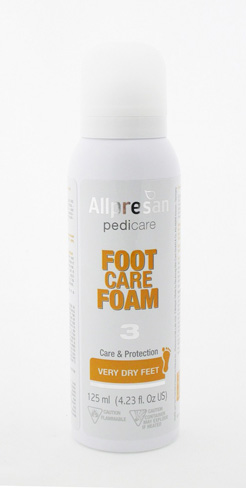 Allpresan Footcare Foam for Dry Feet