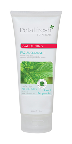 Petal Fresh Botanical Aloe & Peppermint Facial Cleaner 7 oz - 3