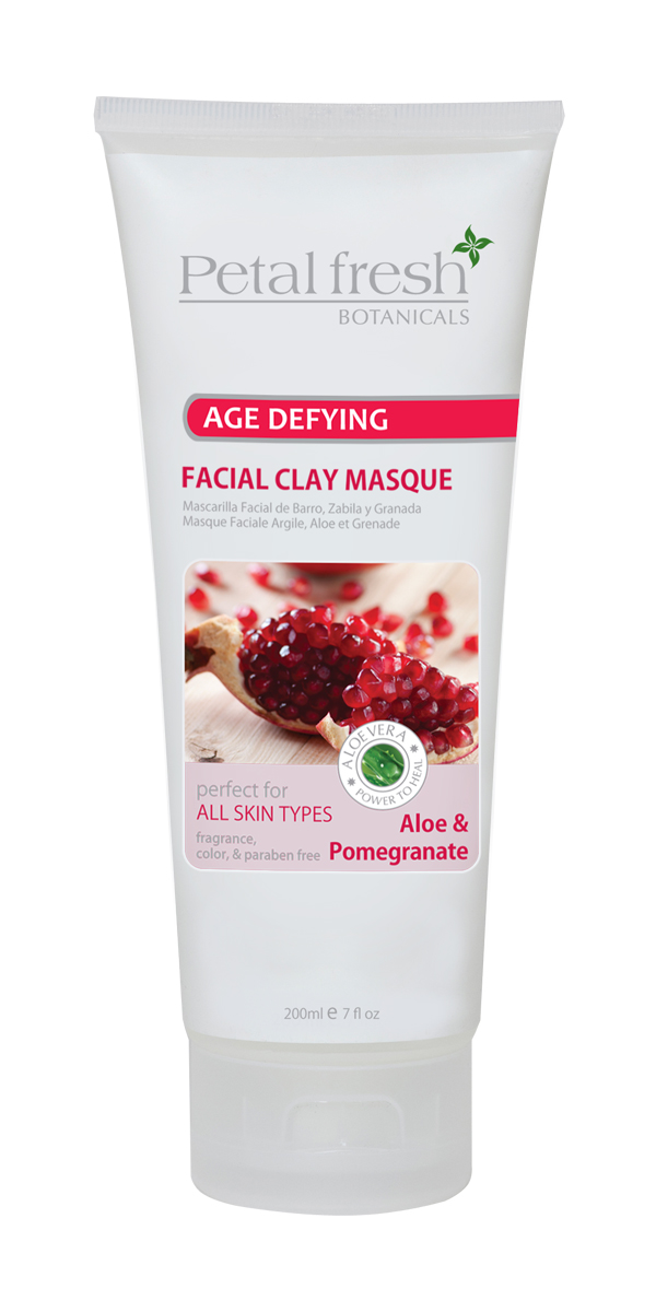 Petal Fresh loe & Pomegranate Facial Clay Masque 7oz - 3 Pack